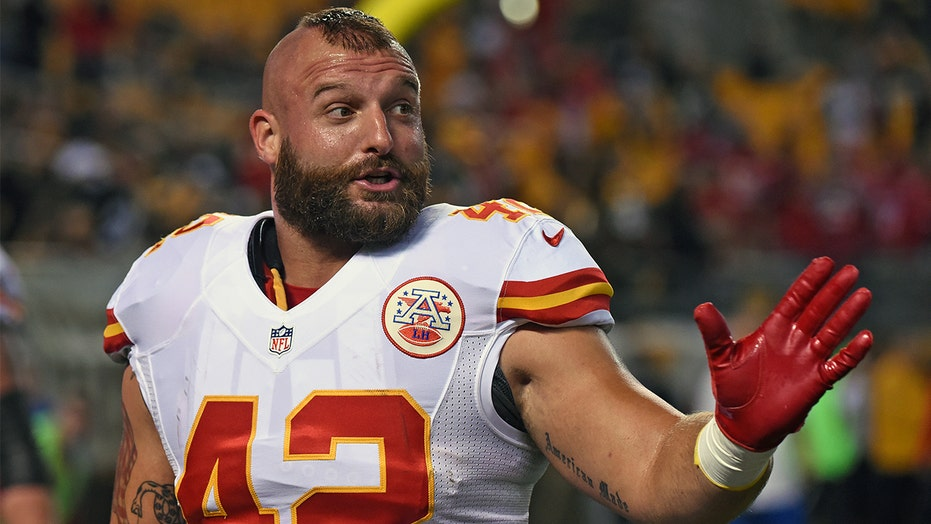 Chiefs fullback Anthony Sherman's truck casualty of prank war, but for good cause