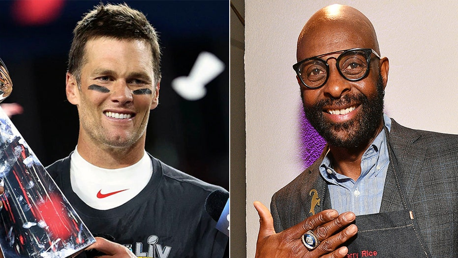 Jerry Rice admits Tom Brady is the GOAT: 'I never wanted that status anyhow'
