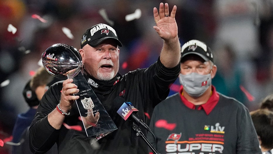 Bucs' Bruce Arians if he's stepping down after Super Bowl LV win: 'Hell, no'