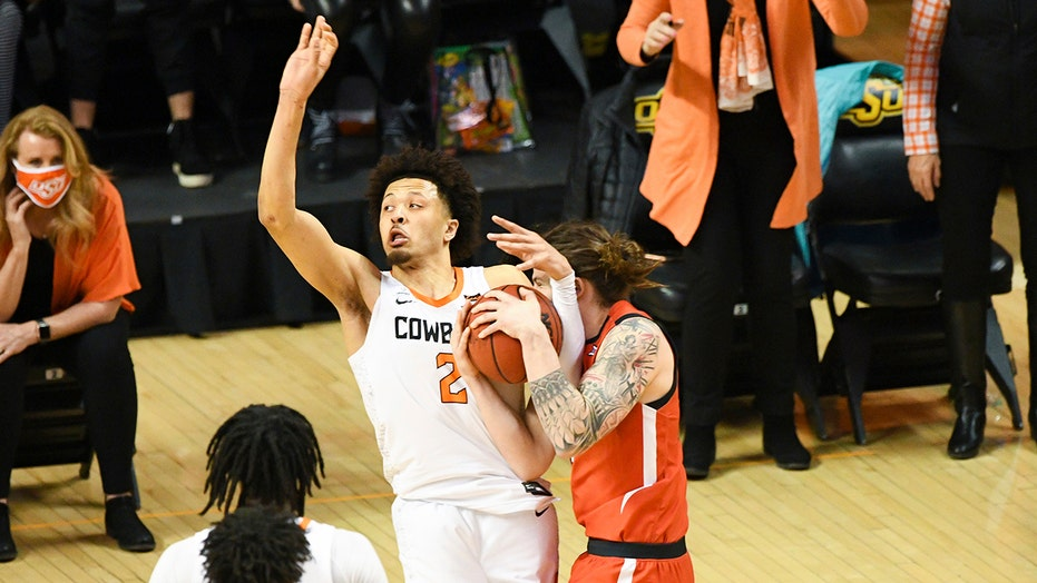 Cunningham shines, Oklahoma St beats No. 18 Texas Tech in OT