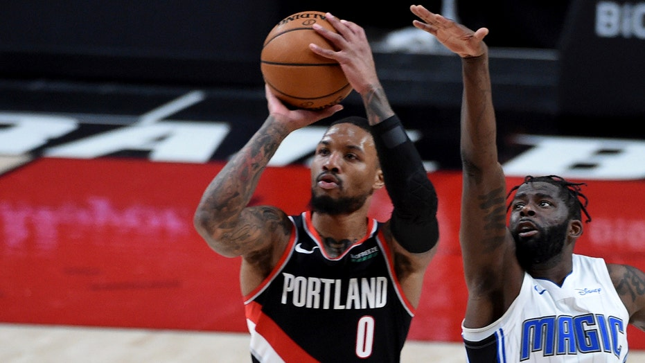 Lillard has 36 and Portland downs Orlando 106-97