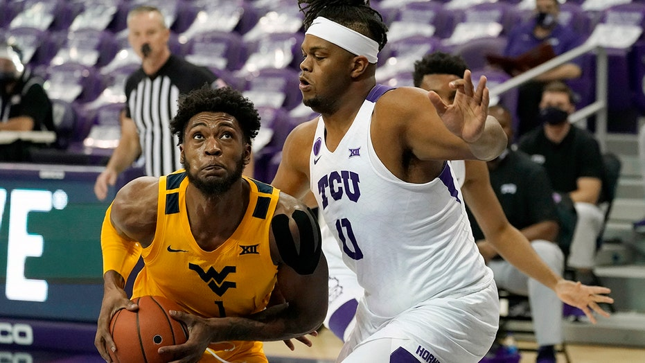 Sherman, Culver lead No. 10 West Virginia over TCU 74-66