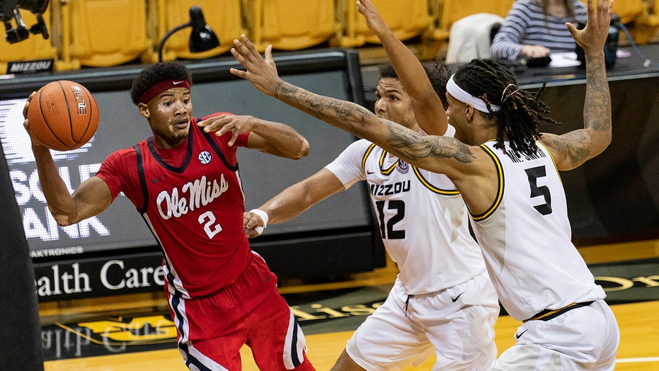 Shuler leads Ole Miss past No. 24 Missouri 60-53