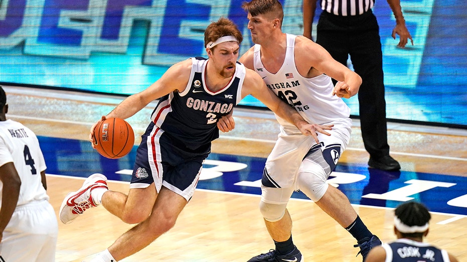 No. 1 Gonzaga coasts to 82-71 victory over BYU