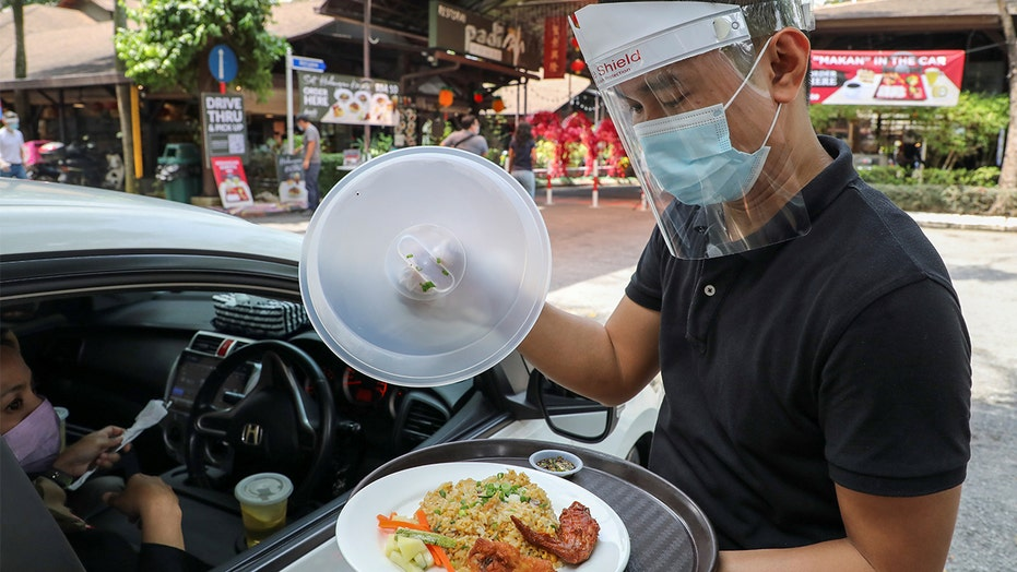 Malaysian restaurant offers drive-in dining inspired by airline meals