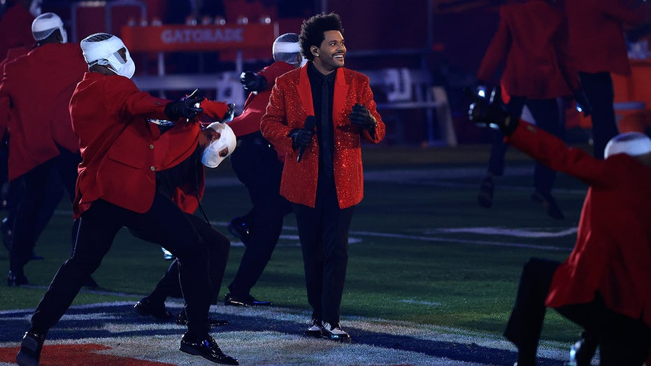 The Weeknd's Super Bowl LV halftime show underwhelms viewers
