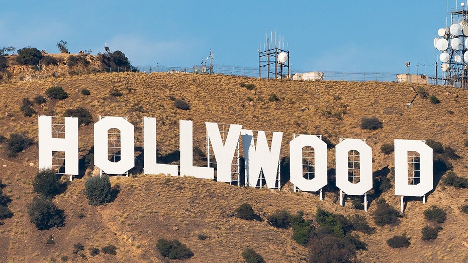 Six arrested for altering iconic Hollywood sign to read 'Hollyboob'