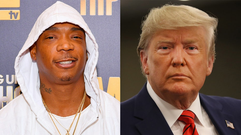 Trump welcome on Ja Rule's celebrity booking app Iconn, rapper says