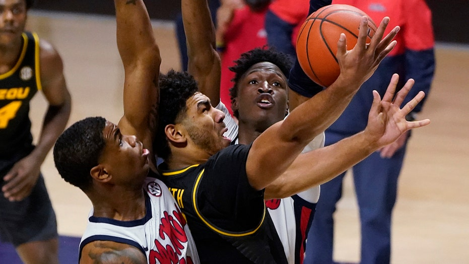 Joiner helps Mississippi beat No. 10 Missouri 80-59