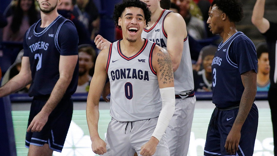 Unbeaten Gonzaga, Baylor remain atop AP Top 25 in quiet week