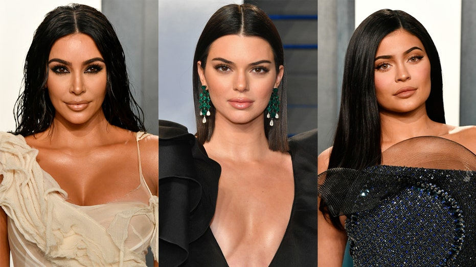 Kim Kardashian, Kylie and Kendall Jenner stun in red lingerie
