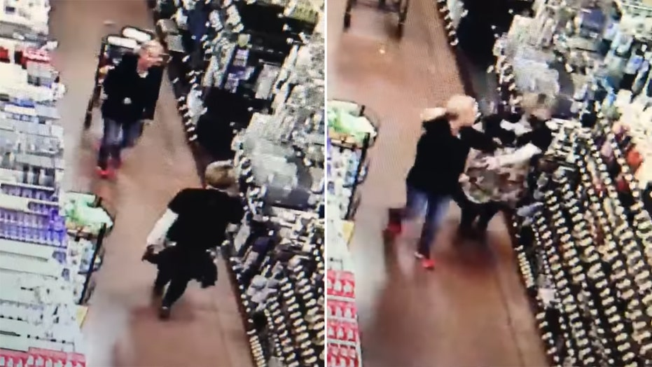 Supermarket shopper slaps employee who tried to enforce mask rule, video shows