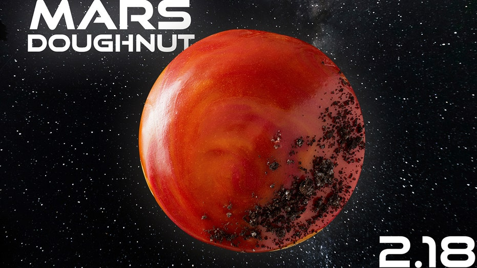 Krispy Kreme to offer 'Mars Doughnut' in honor of Perseverance Rover landing