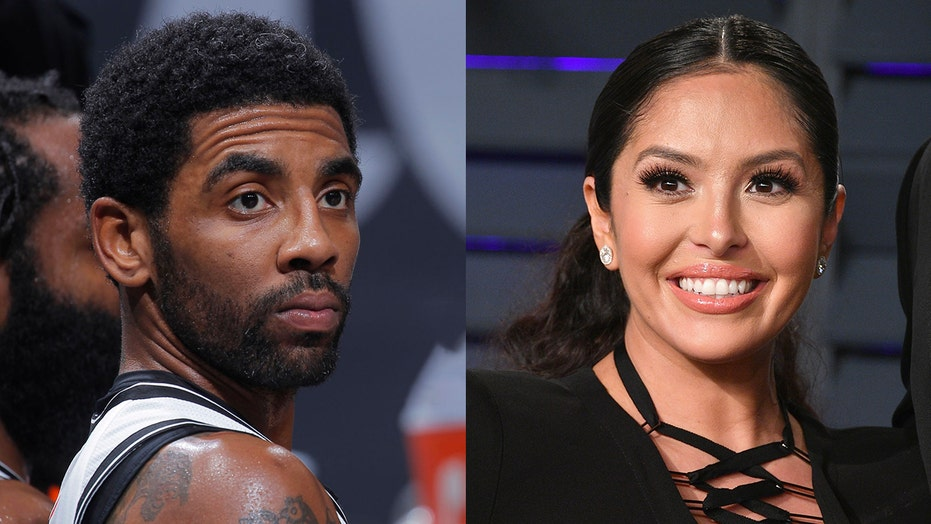 Vanessa Bryant backs Kyrie Irving on changing NBA logo