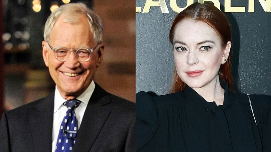 David Letterman catches backlash over resurfaced Lindsay Lohan interview where he seems to mock her rehab