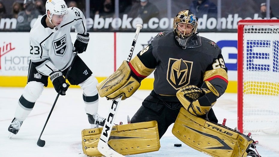 Vegas returns from virus-related break, dominates Kings 5-2