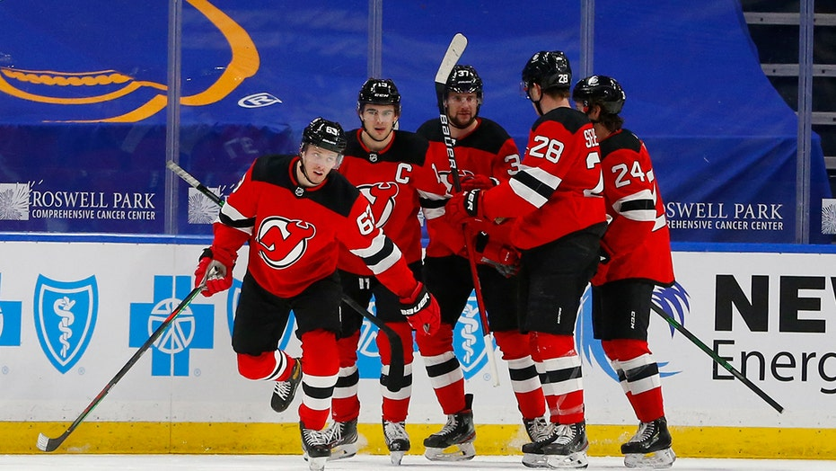 Zacha scores 1:17 into OT in Devils' 4-3 win win over Sabres