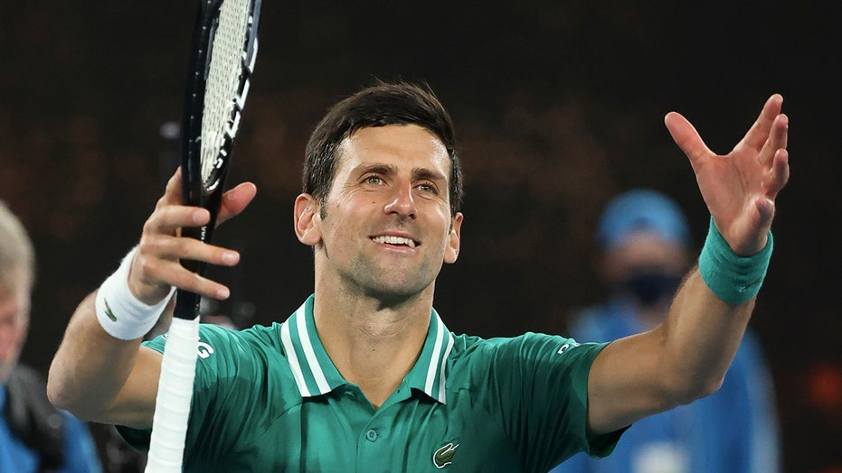 Djokovic: 'Makes my heart full' to see Aussie Open crowd