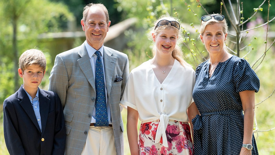 Prince Edward says kids Louise and James are 'chalk and cheese' with homeschooling