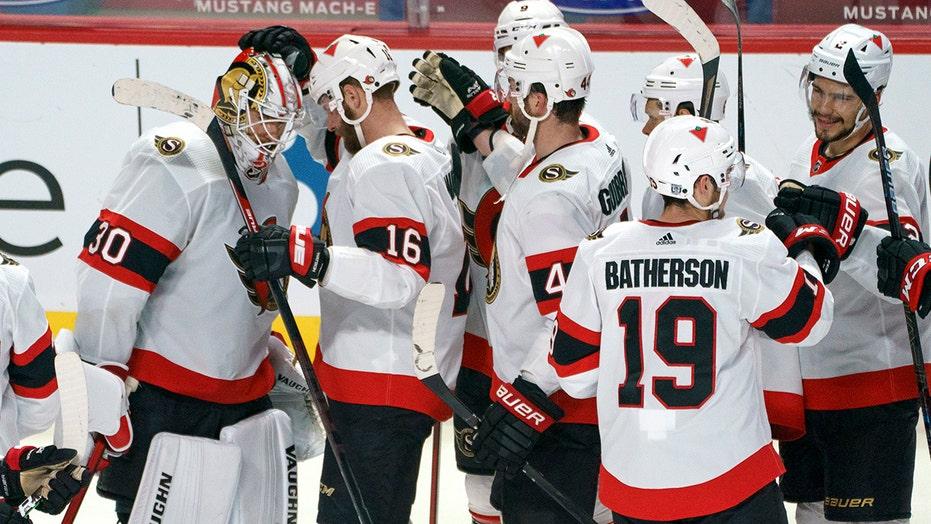 Senators snap 9-game losing streak, beat Canadiens 3-2