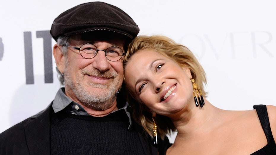 Drew Barrymore, Steven Spielberg recall silly gift exchange after actress posed for Playboy in 1995