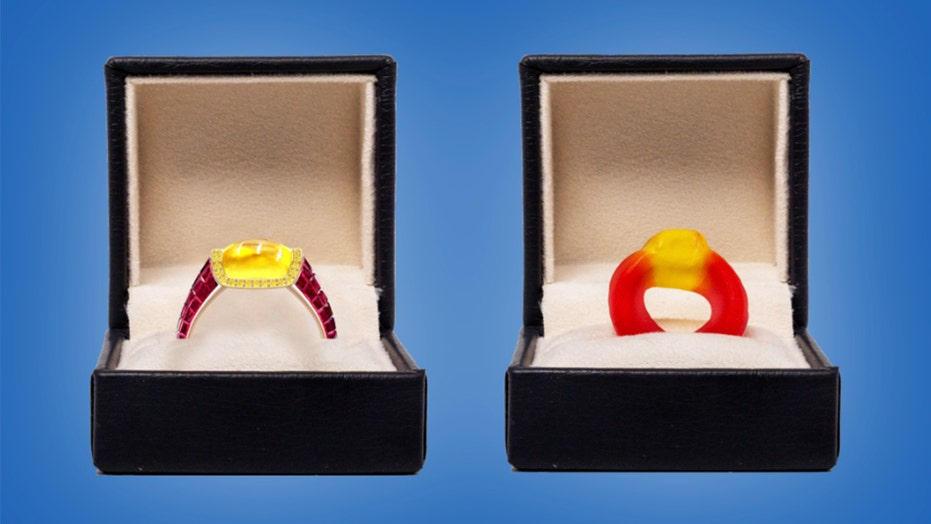 Jeweler creates candy-inspired engagement ring — here's how much it costs