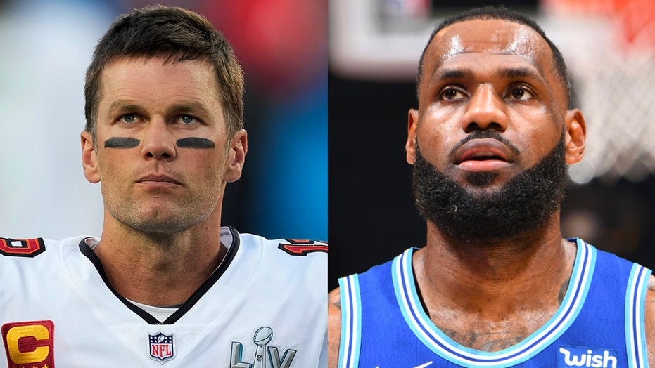 LeBron James inspired by Tom Brady's Super Bowl win, 'no timetable' on retirement plans