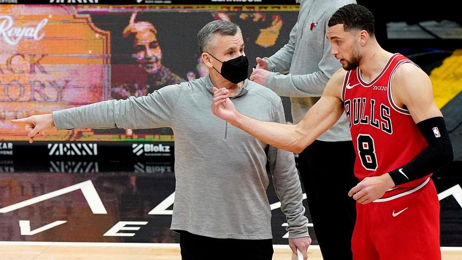 LaVine scores 35 as Bulls beat Timberwolves 133-126 in OT