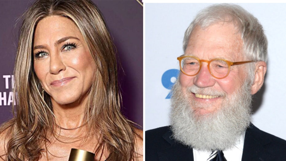 Jennifer Aniston fans slam David Letterman for licking her hair in resurfaced clip gone viral: 'Gross'