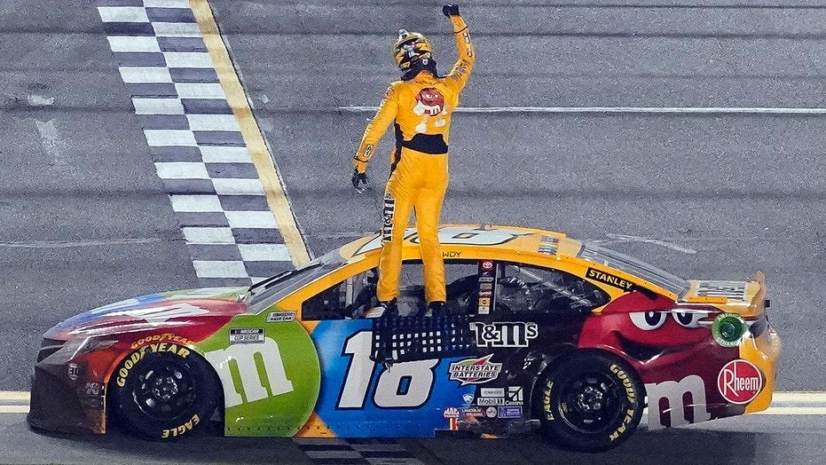 NASCAR: Kyle Busch wins wild Busch Clash