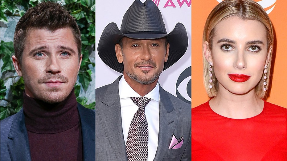 Garrett Hedlund reveals Tim McGraw is the godfather to his and Emma Roberts' son