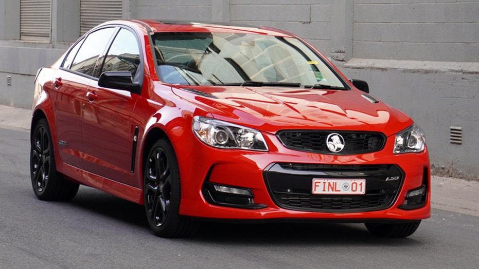 'Last' General Motors car built in Australia sold for $575,000