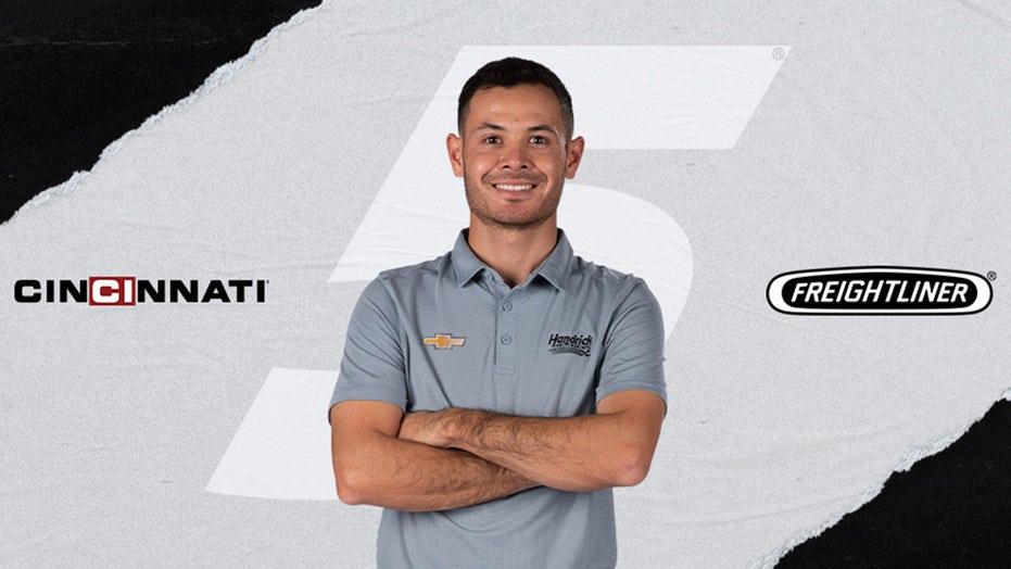 NASCAR's Kyle Larson lands Freightliner, Cincinnati Inc. sponsorships for upcoming races