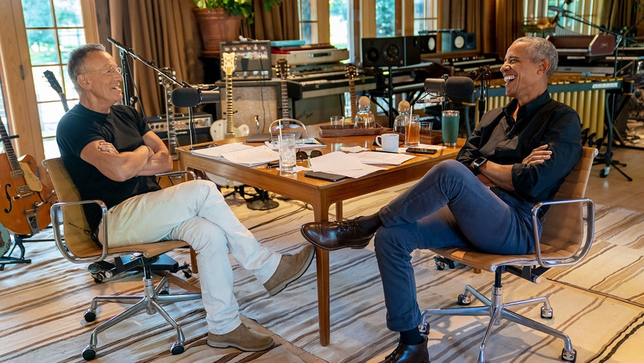 Bruce Springsteen, Barack Obama launch podcast together