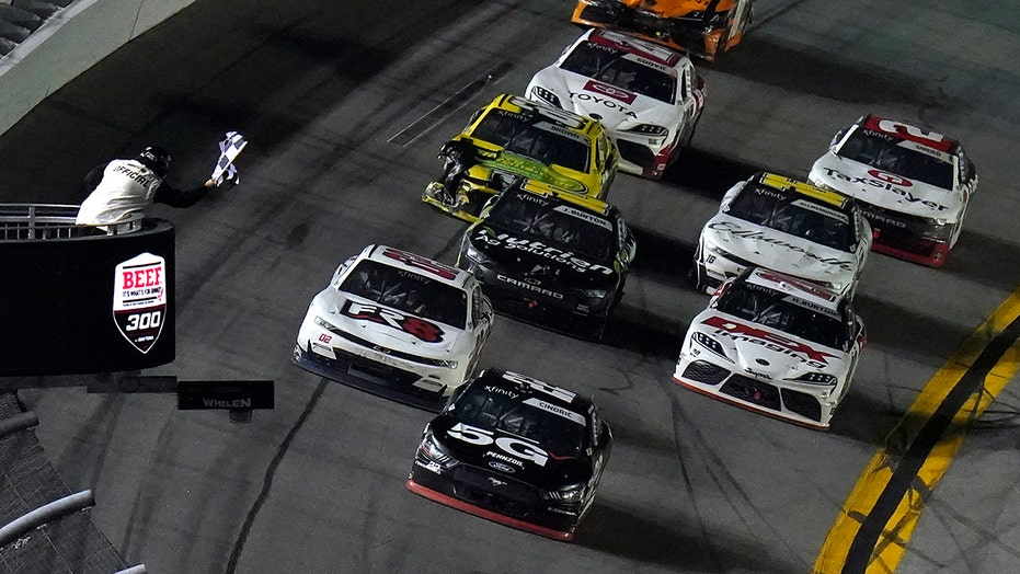 Austin Cindric wins NASCAR Xfinity Series season opener in Daytona