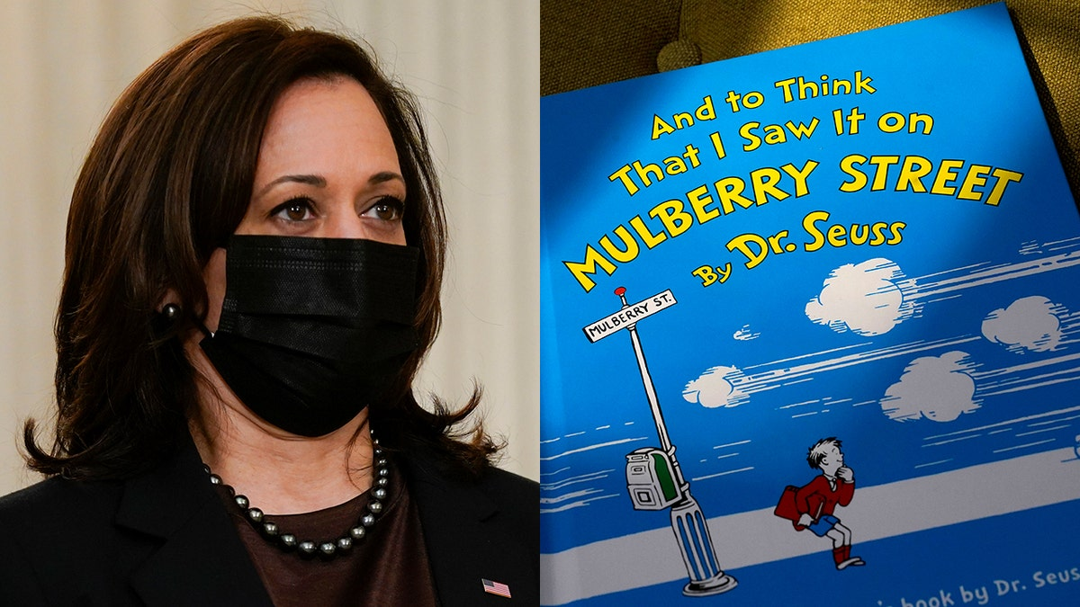 Kamala Harris tweet celebrating Dr. Seuss in 2017 resurfaces after president's omission