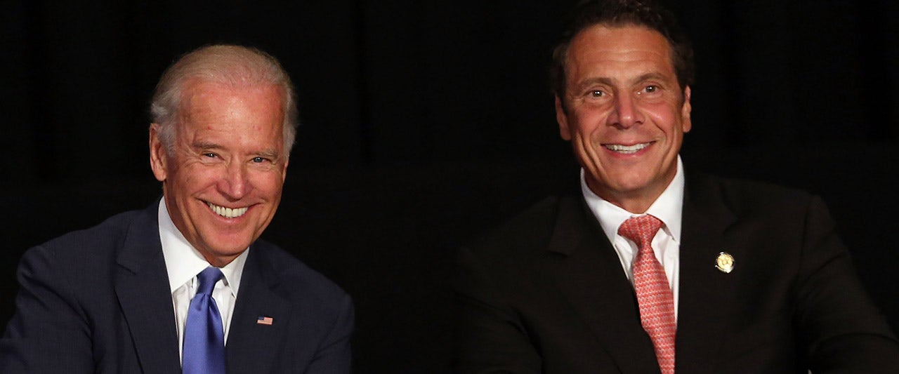 Biden comments on Cuomo scandals, breaks from many in his party