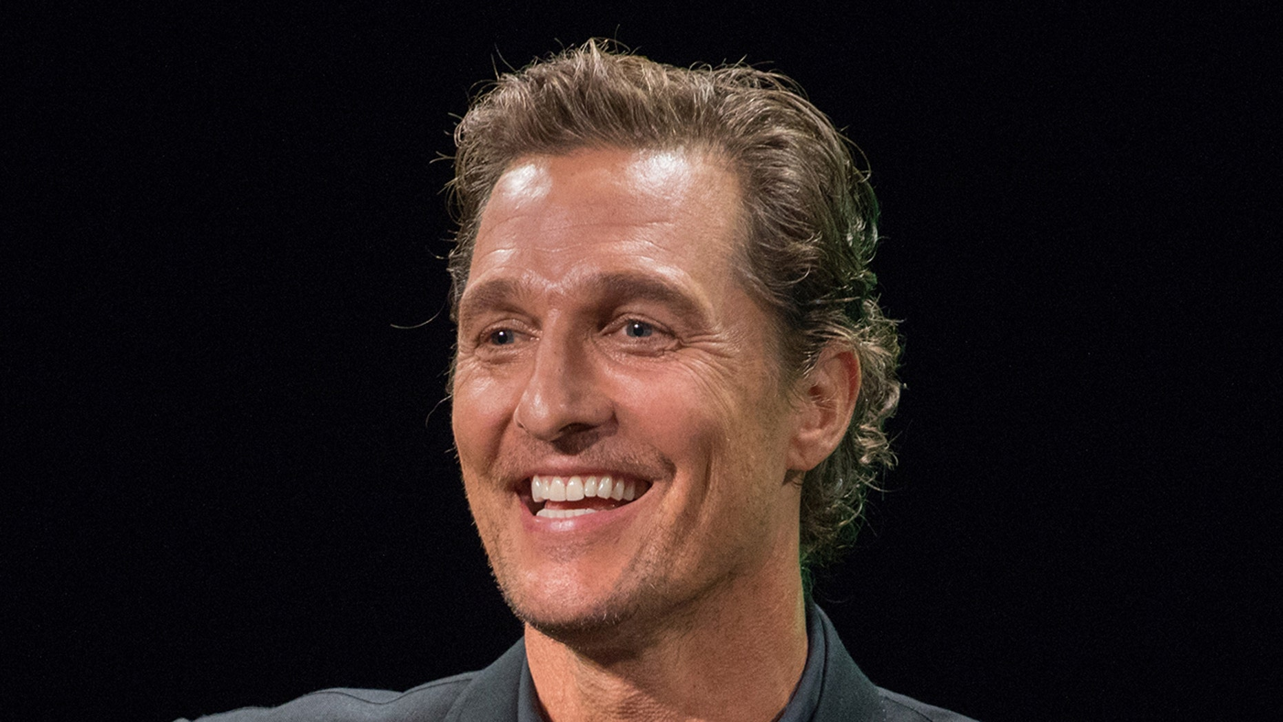 Matthew McConaughey shares his dad's advice on pursuit of acting: Don't 'half-a-- it'