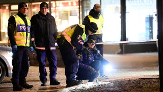 Man injures 8 in ax attack in Sweden before being shot and killed in possible terror incident