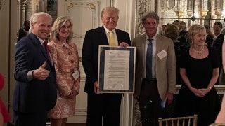 Trump to be honored with major award in latest show of support from Republicans