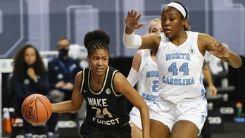 Spear scores 29, hits 7 3s as Wake Forest women beat UNC