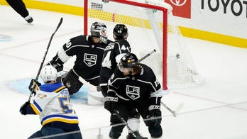 Blues rally for 3-2 win over Kings on Hoffman's goal in OT
