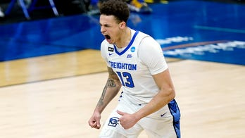 No. 5 Creighton beats 12th-seeded UCSB 63-62 with clutch FTs