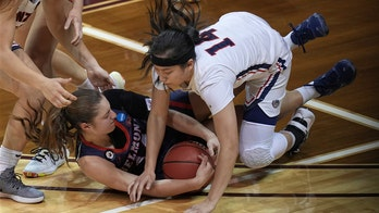 Wells 25 points for Belmont women in 1st NCAA win over Zags