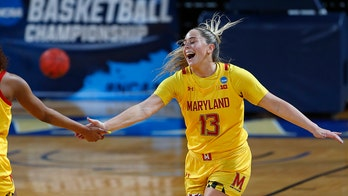 Maryland women pour it on Alabama 100-64 to reach Sweet 16