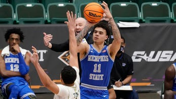 Nolley 27 points, Memphis 14 3s over Colorado St in NIT semi