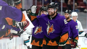 Kessel hat trick lifts Coyotes past Sharks 4-0