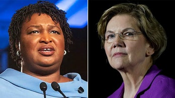 Elizabeth Warren claims Georgia Gov. Kemp is 'sitting in Stacey Abrams' chair'