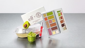 Chipotle's new e.l.f. makeup collection gets extra with guacamole eye shadow