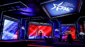 Company behind CPAC 'Nazi' stage donates largely to Dems, did work for MSNBC, Biden Cancer Initiative